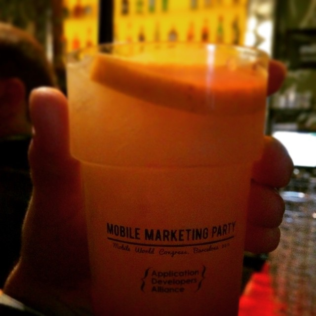 Mobile Marketing Party #mwc15