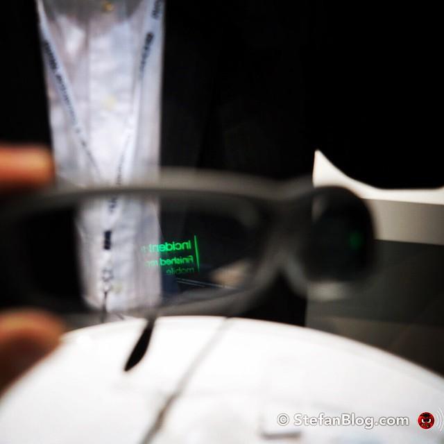 Sony smart glass